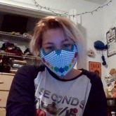 My Large Flower Mask