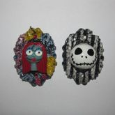 Jack And Sally Bead Charms