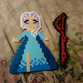 Elsa And Scissor Blade