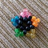 Black And Rainbow Transparent Star