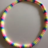 Pastel Rainbow Candy Necklace From Schoolofrockreject