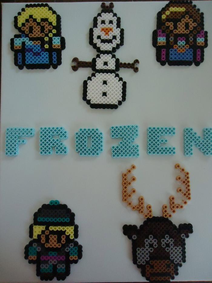 Frozen By Perlerhime Kandi Photos On Kandi Patterns