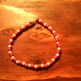 Purple And Pink Seed Bead Singel
