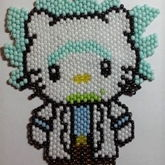 Rick Sanchez Hello  Kitty