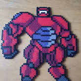 Armored Baymax Perler