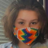 My First Mask *thumbs Up*