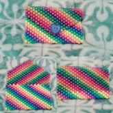 Rainbow Kandi Wallet <3