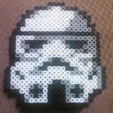 Star Wars Storm Trooper Perler