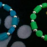 Peace Singles (blue N Green)