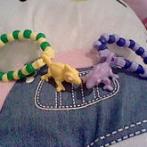 Color Changing Gecko Bracelets