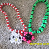 Watermelon Theme Choker And Hello Kitty Theme Choker