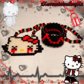 Emo Hello Kitty Kandi Set!