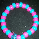 Blue And Pink Braclet