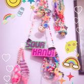MY WALL OF KANDI