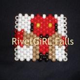 Hellboy Chibi Kandi Cuff Bracelet