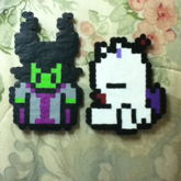 Maleficent And Sleeping Moogle