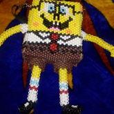 Kandi Sponge Bob Bag