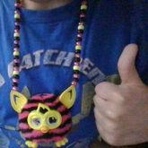 Furby Boom Furbling Necklace