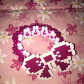 First Cuff With Perler