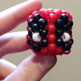 Mini 3D Deadpool Head