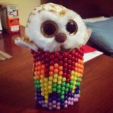 Melting Rainbow Cuff