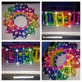 Rainbow Carousel Cuff