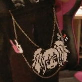 Danganronpa Perler Chain!