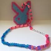 Play Boy Bunny Necklace