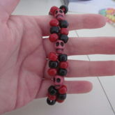 Red And Black Skull Double