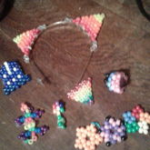 Charms, A Headband, And Other Small Bead Things