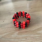 Red And Black Cuff