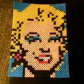 Andy Warhol Marilyn Monroe Perler