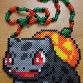 Halloween Bulbasaur Necklace