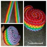 Rainbow Kandi Belt C: