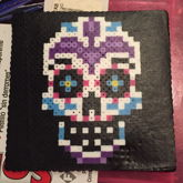 Sugar Skull Perler Bead