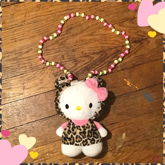 Hello Kitty Plush Necklace