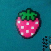 Strawberry (Perler)