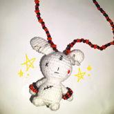 Zombie Bunny Necklace