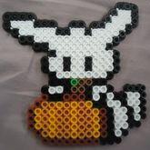 Cute Pumpkin Bunny