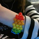 My First Rainbow Kandi Bead Design