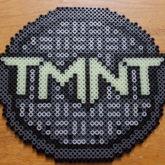 TMNT Sewer Cover Perler
