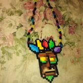 Aku Aku Perler Necklace For The Boyfriend