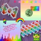 Rainbow Bow Bracelet