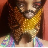 Cutout High Point Excision GOLD Mask
