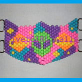 D-Ring Alien Galaxy Kandi Mask b