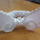 Angel Wing Perlers 3D Cuff
