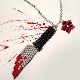 3D Knife Necklace