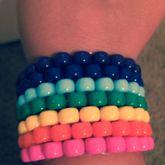 Rainbow Cuff ._. Peyote