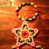Rainbow Extended Star Ring Bracelet