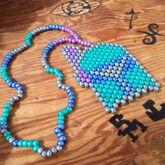 Boba Fett Peyote Necklace